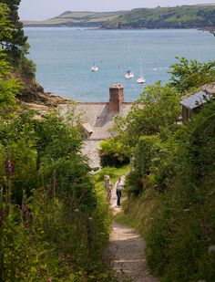 Durgan, Mawnan Smith, near Falmouth, Cornwall, England