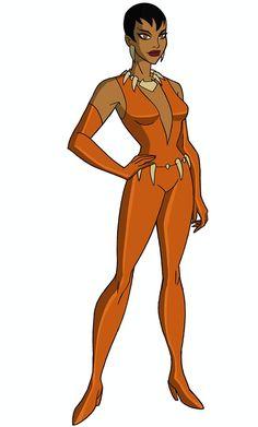 Marvel Dc, Marvel Girls, Dc Comics Heroes, Dc Comics Characters, Vixen Dc Comics, Bruce Timm, Dc Animated Series, Justice League Animated, Female Superhero