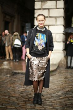 #dariashapovalova #russian #jumper #balenciaga #bypascal #london #look #streetstyle #streetview #street #style #offcatwalk on #sophiemhabille
