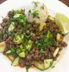 Soy-Glazed Beef with Cucumber and Sticky Rice Plated Reviews, Meal Delivery Service, Cucumber, Foundation, Beef, Bright, Asian, Meals, Dishes