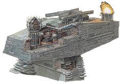 Bridge of an Imperial II-class Star Destroyer