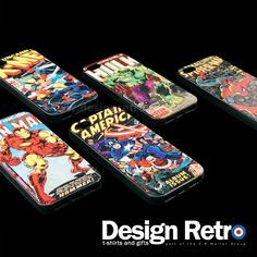 Marvel iPhone 5 covers in 5 different designs from X Men, Iron Man, Captain America, Hulk to Spiderman. Official Marvel case made from plastic for extra protection. http://www.designatshirts.co.uk/Marvel-iphone-5-case?manufacturer_id=11