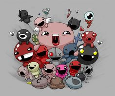 The Binding of Isaac - BFFs by blckwht.deviantart.com on @deviantART