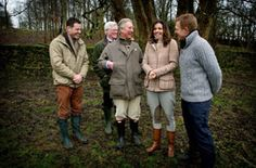 HRH and the Countryfile team