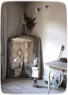 """Méas Vintage: Der Raum der Träume III - Herstellen eines """"antiken Spiegels"""" nach Maß"""
