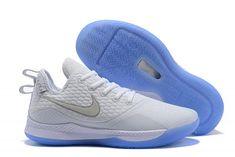 618b0e25c5a4 Mens Nike Lebron Witness 3 White Metallic Silver Shoes-4 Cheap Designer