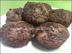 Magdalenas de chocolate.  LAMBRUCHONA
