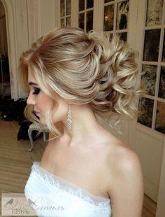 Coiffure De Mariage  : Featured Hairstyle: Elstile; www.elstile.com