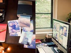 Print your instagram photos into polaroids. Love it!