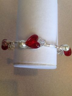 Handmade wire wrapped bracelets on Etsy, $15.00