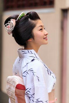 祇園祭の宵に(祇園甲部・紗月さん) : 花景色-K.W.C. PhotoBlog