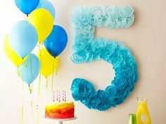 Number-Themed Birthday Party Ideas