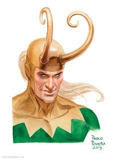 Loki by Paolo Rivera *