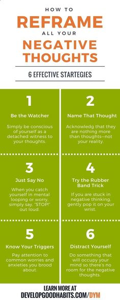 6 effective strategies for reframing your negative thoughts. Using positive thinking to overcome negative thinking and increase happiness and mental well being. | An excerpt from SJ Scott and BArrie Davenports book, DECLUTTER YOUR MIND. Dealing with menta