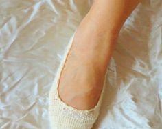 Articles similaires à Danse de mariage chaussures pantoufles crème mariée soirée demoiselle d'honneur sur Etsy