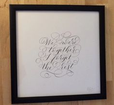 Together by SarahScript88 on Etsy