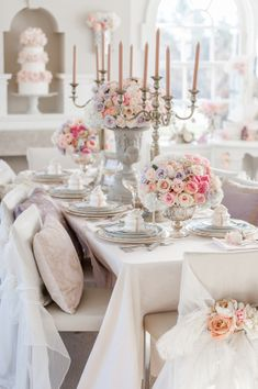 "Say the name ""Marie Antoinette"" and immediately visions of opulent design and gorgeous gowns pop into your head.  It just happens.  So starting off the week with a Marie Antoinette-inspired shoot from the talented team of Paige Lewis Events, Anista Designs and Krista Fox (among many others) is a total"