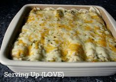 Katherine's Kitchen: Serving Up {Mexican}: Cream Cheese Enchilada