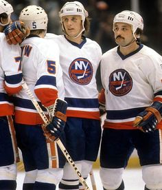 Mike Bossy, Bryan Trottier and Denis Potvin, New York Islanders