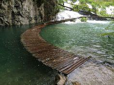 Water Walkway in Croatia
