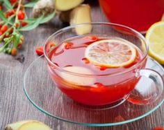 Thé détox aux baies de goji et au citron jaune : http://www.fourchette-et-bikini.fr/recettes/recettes-minceur/detox-aux-baies-de-goji-et-au-citron-jaune.html