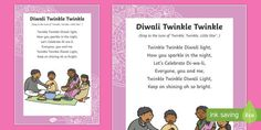 * NEW * Diwali Twinkle Twinkle Song - Crystal Holbrook - Hotel Songs For Toddlers, Rhymes For Kids, Kids Songs, Diwali Festival Of Lights, Diwali Lights, Preschool Action Songs, Preschool Learning, Diwali Activities, Class Activities