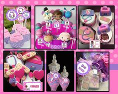 Doc Mcstuffins Inspired Party Pack, Doc Mcstuffins Birthday Party Printables - YOU PRINT