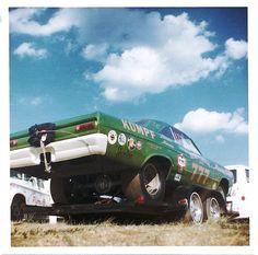 Kenz and Leslie Mercury Funny Car