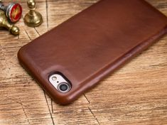 Brown iPhone 7 Case Leather iPhone 7 Case iPhone 7 Plus Iphone 7 Cases Leather, Iphone Wallet Case, Iphone 7 Plus Cases, Card Wallet, Handmade Leather Wallet, Brown, Etsy, Initials, Products