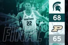 Miles Bridges @milesbridges22  With the game winner!! Victory for MSU. 3 way tie for 1st place in the Big Ten! #spartyon  #spartanswill