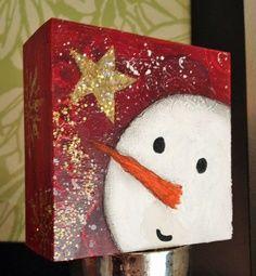Snowman Paint Night