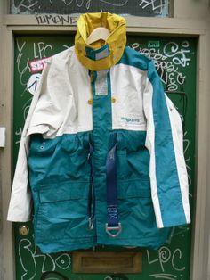 ZONE7STYLE: Vintage Henri Lloyd Sailing Jacket with Harness