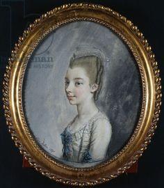 1771,Georgiana Spencer, later Georgiana Cavendish, Duchess of Devonshire (1757-1806), pictured here aged 14.