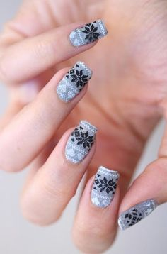 Best Christmas nails that girls will need in 2015 winter ! - Fashion Blog