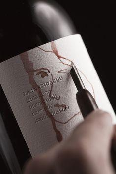 bruketa&zinic: wine for inspiration Wine Bottle Design, Wine Design, Wine Bottle Labels, Label Design, Graphic Design, Design Design, Skincare Packaging, Bottle Packaging, Label Art