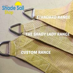 5.5 x 5.5 x 5.5 m GREY Triangle Shade Sails NEW Shady Lady Range!