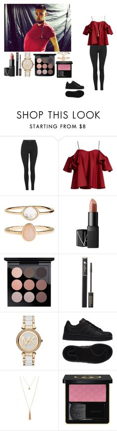 """""""Happy brithday Liam"""" by rosemie ❤ liked on Polyvore featuring Topshop, Payne, Anna October, Accessorize, NARS Cosmetics, MAC Cosmetics, Lancôme, Michael Kors, adidas and Gucci"""