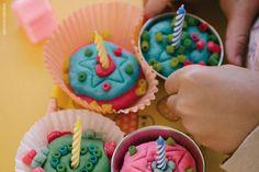Fabrica de Cupcake de Massinha | Play dough Cupcake