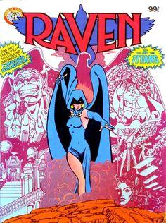 ".Raven Of Teen Titans Aka ""Corvina"""