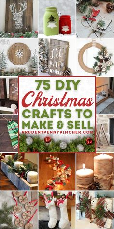 Crafty Christmas Gifts, Christmas Crafts To Make And Sell, Christmas Crafts For Adults, Diy Crafts For Adults, Simple Christmas, Holiday Crafts, Christmas Diy, Christmas Gift Craft Ideas, Christmas Crafts To Sell Bazaars