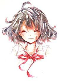 Title:smile  #character #Japanese #Illustration #manga #anime