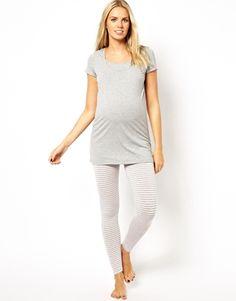 maternity pajamas - maternity monday on #redsoledmomma.com