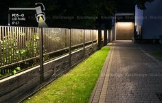 Low voltage suitable for LED lighting allows for safe lighting of garden space.