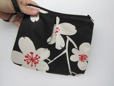 Cosmetic pouch zipper pouch wristlet makeup bag by blackbirdbag Pouch Bag, Zipper Pouch, Cosmetic Pouch, Clutches, Totes, Coin Purse, Buy And Sell, Cosmetics, Wallet