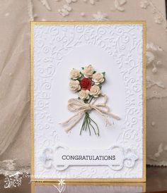 WT483 Posy of Roses by Cook22 - Cards and Paper Crafts at Splitcoaststampers