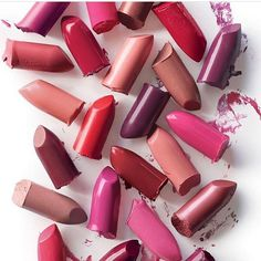 Express yourself! Let your lip color do the talking.  From Watermelon pink to Chili pepper red there's a shade perfect for you!!! #Aveda #feedmylips #avedamakeup #spectrum