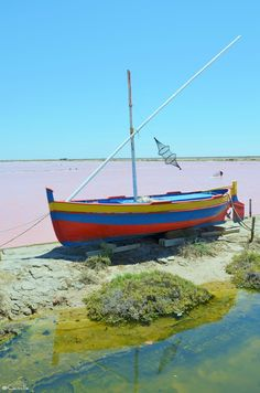 French landscape | Boat | Colorful