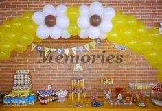 Minions, mesa de dulces