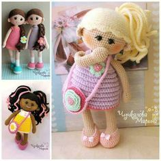 You'll love these cute crochet dolls free patterns and we have lots of adorable ideas that you will love. Watch the video tutorial too.