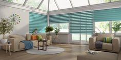 Vision Blinds in Conservatory